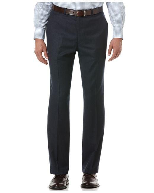 Perry Ellis   Blue Portfolio Travel Luxe Slim-fit Stretch Dress Pants for Men   Lyst