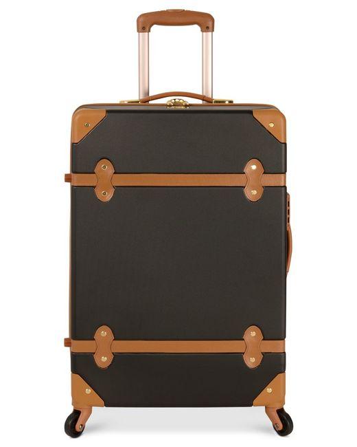 Diane von Furstenberg | Black Adieu 20-Inch Carry On Hardside Spinner Suitcase | Lyst