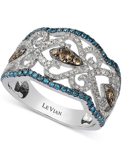 Le Vian | Diamond Vintage Ring In 14k White Gold (1 Ct. T.w.) | Lyst