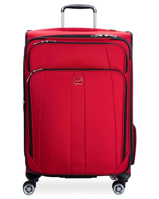 "Delsey | Red Closeout! 60% Off Helium Breeze 5.0 25"" Spinner Suitcase, Only At Macy's for Men 
