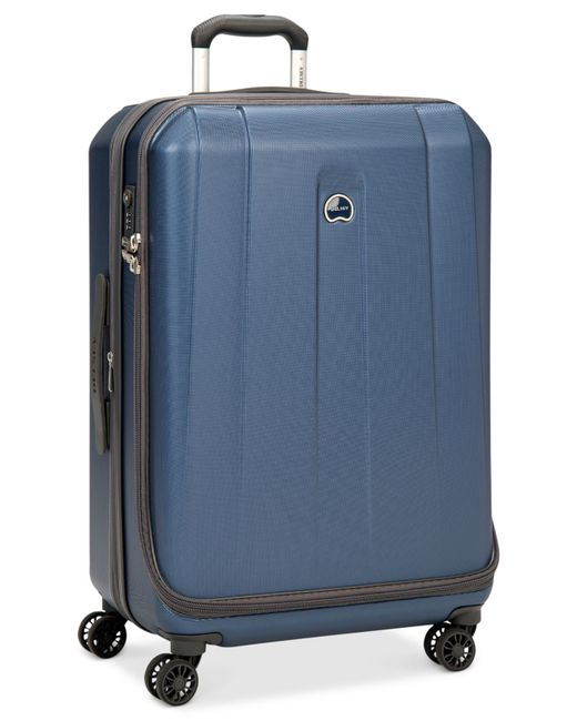 "Delsey | Closeout! 60% Off Helium Shadow 3.0 21"" Carry-on Expandable Hardside Spinner Suitcase, In Blue, A Macy's Exclusive Color for Men 
