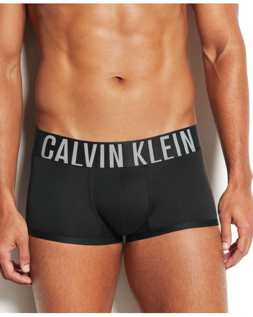 Calvin Klein | Black Men's Intense Power Low-rise Trunks Nb1047 for Men | Lyst
