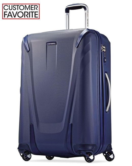 """Samsonite   Blue Closeout! 60% Off Silhouette Sphere 2 Hardside 26"""" Spinner Suitcase, Available In Ruby Red, A Macy's Exclusive Color   Lyst"""