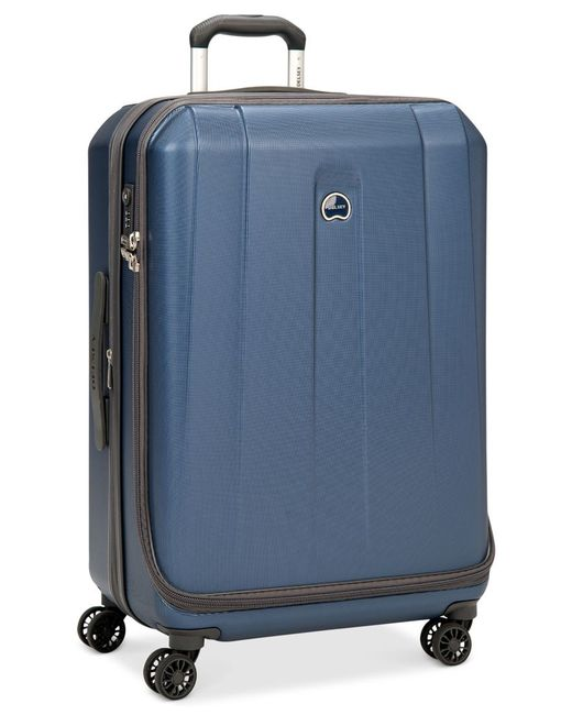 "Delsey | Helium Shadow 3.0 21"" Carry-on Expandable Hardside Spinner Suitcase, In Blue, A Macy's Exclusive Color for Men 