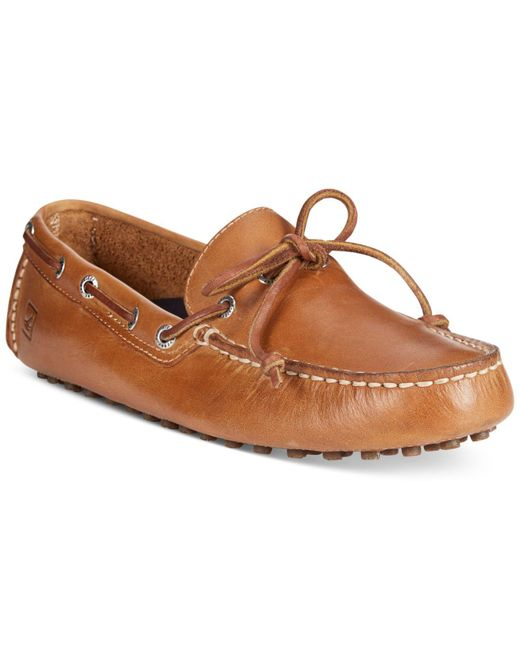 Sperry Top-Sider | Natural Hamilton One Eye Drivers for Men | Lyst