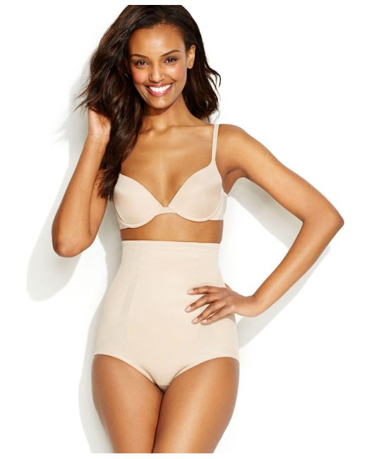 Miraclesuit   Natural Extra Firm Shape Away High Waist Brief 2915   Lyst