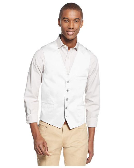 INC International Concepts | Blue Men's Collins Slim-fit Vest, Only At Macy's for Men | Lyst