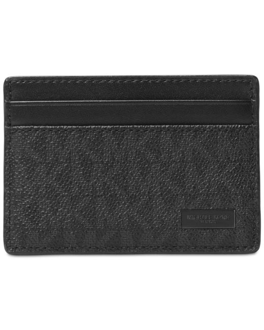 Michael Kors - Black Men's Jet Set Card Case for Men - Lyst