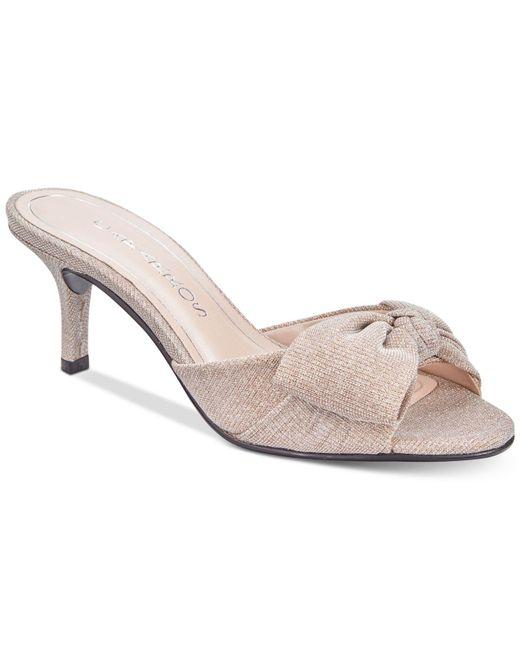 Caparros - Multicolor Lydia Bow Slide Evening Sandals - Lyst