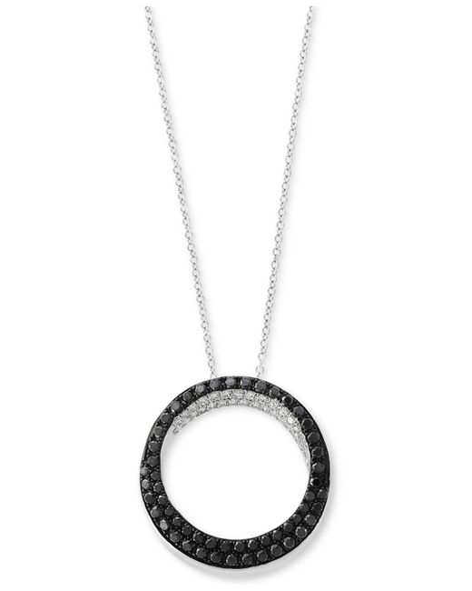 Effy Collection | Metallic Diamond Pendant Necklace (5/8 Ct. T.w.) In 14k White Gold | Lyst