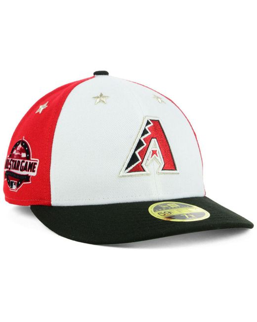 KTZ - Multicolor Arizona Diamondbacks All Star Game Patch Low Profile 59fifty Fitted Cap 2018 for Men - Lyst