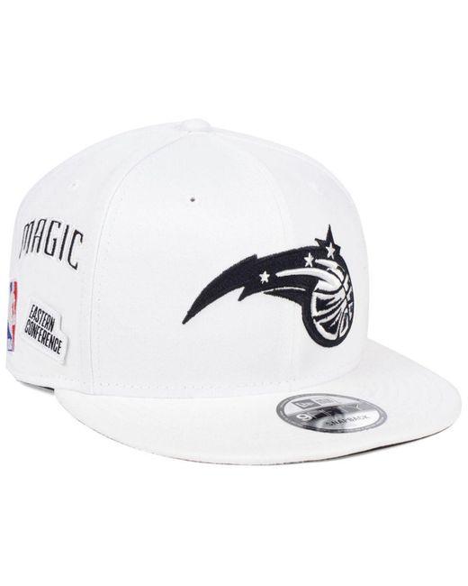 finest selection b6830 5cd48 KTZ - White Orlando Magic Night Sky 9fifty Snapback Cap for Men - Lyst ...