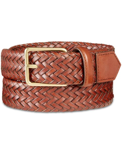 Cole Haan - Multicolor Woven Leather Belt for Men - Lyst