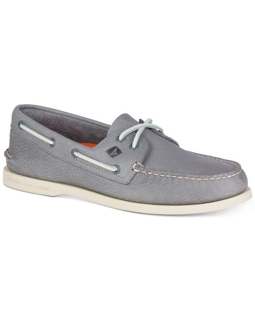 Sperry Top-Sider - Gray Women's Angelfish Boat Shoe for Men - Lyst