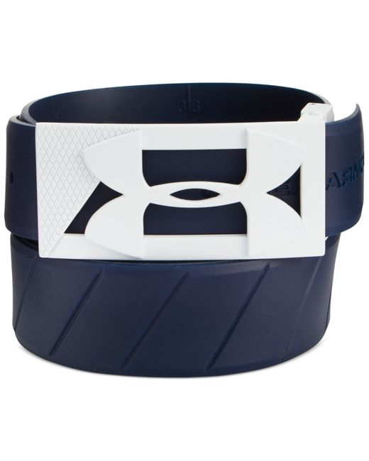 Under Armour | Blue Silicone Golf Belt for Men | Lyst