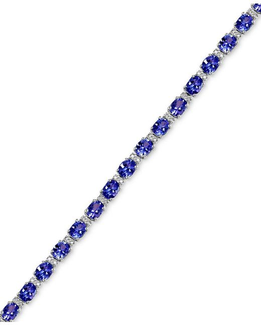 Effy Collection Tanzanite 8 7 8 Ct T W And Diamond 1