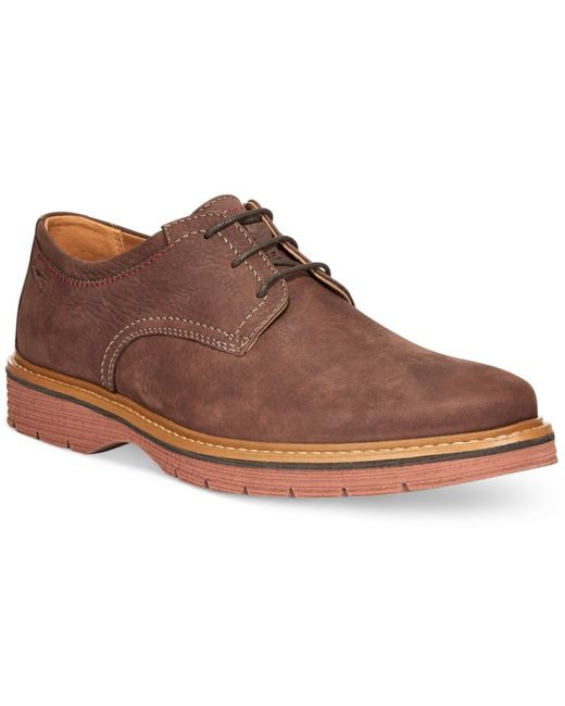 Clarks | Brown Men's Newkirk Plaintoe Oxfords for Men | Lyst