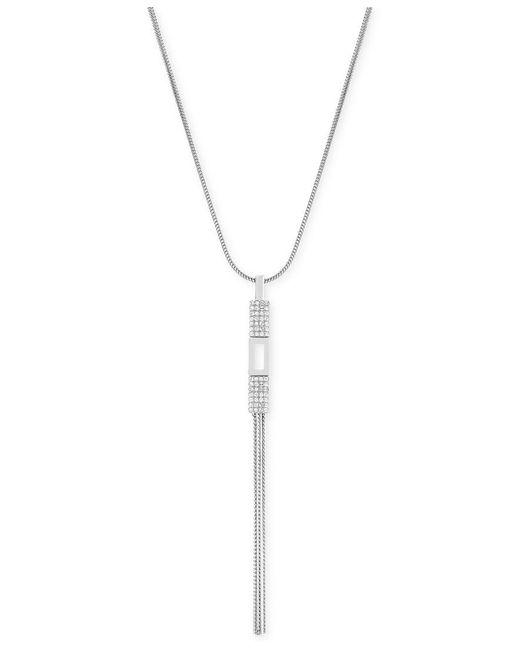 Swarovski | Metallic Cubist Gold-plated Long Crystal Pendant Necklace | Lyst