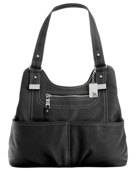 Style & Co. | Black Kenza A-line Shopper, Only At Macy's | Lyst