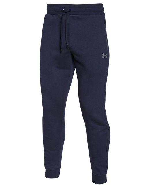 Under Armour | Blue Soho Fleece Pants for Men | Lyst