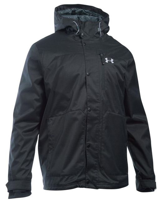 Under Armour | Black Men's Coldgear Porter Jacket for Men | Lyst