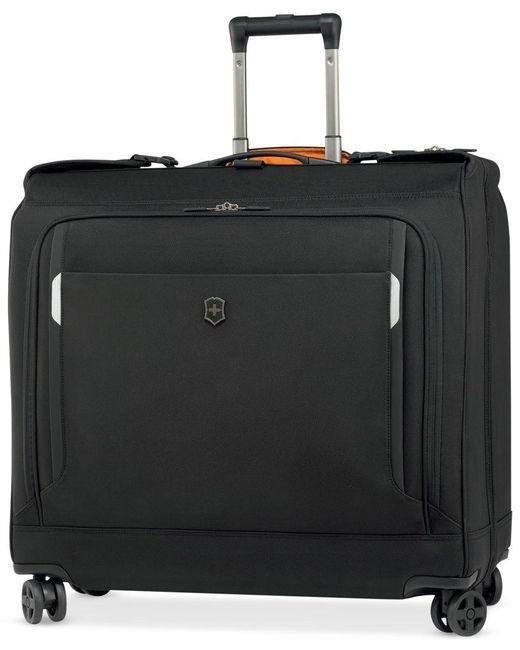 Victorinox   Black Werks Traveler 5.0 Dual Caster Spinner Garment Bag for Men   Lyst