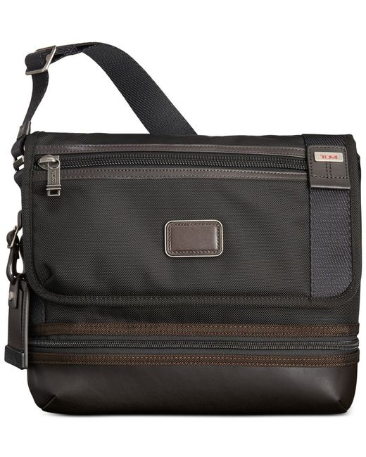 Tumi | Gray Alpha Bravo Beale Flap Crossbody Bag for Men | Lyst