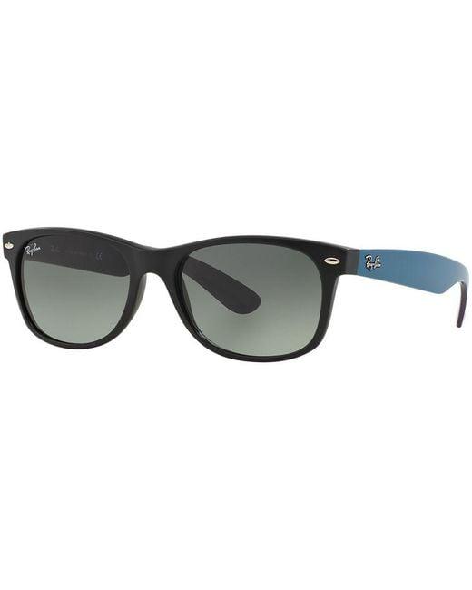 Ray-Ban   Black Sunglasses, Rb2132 55 New Wayfarer Gradient   Lyst
