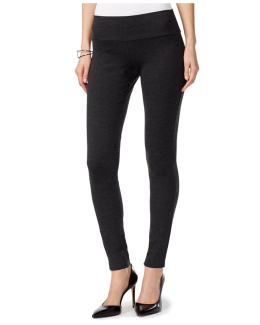 INC International Concepts | Gray Pull-on Ponte Skinny Pants | Lyst