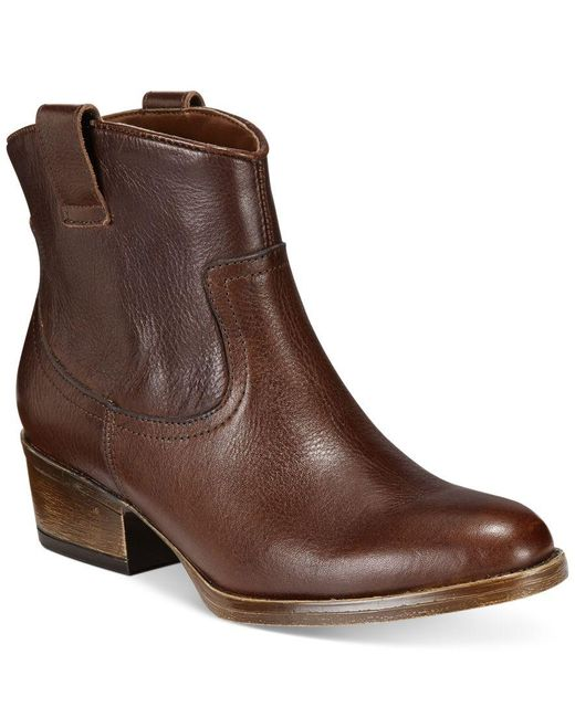 Kenneth Cole Reaction   Brown Women's Hot Step Booties   Lyst