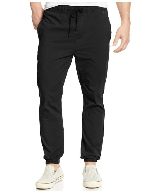 Hurley | Black Men's Drifter Dri-fit Joggers for Men | Lyst