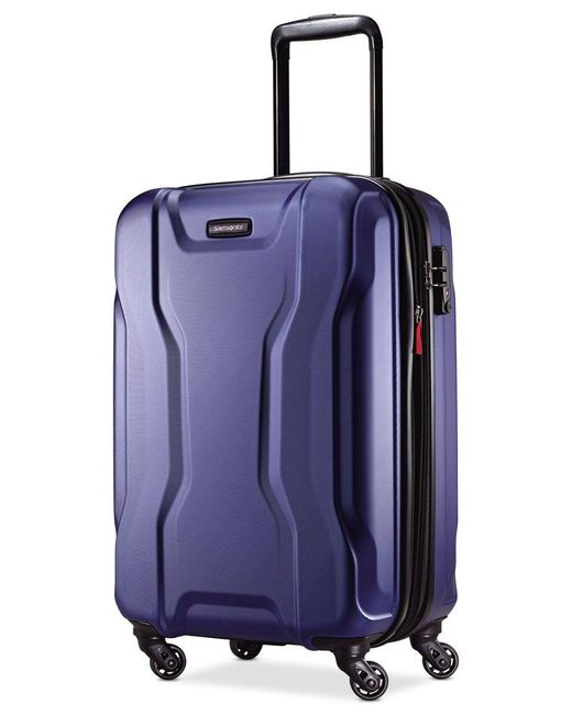 "Samsonite | Blue Spin Tech 2.0 21"" Carry-on Hardside Spinner Suitcase, Only At Macy's for Men 