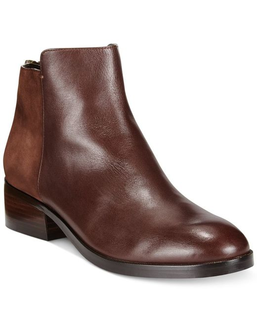 Cole Haan   Brown Elion Ankle Booties   Lyst