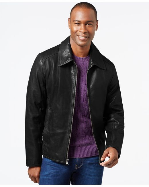 Marc New York | Black Leather Jacket for Men | Lyst
