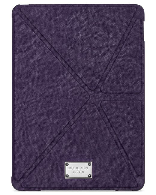 Michael Kors | Purple Michael Electronics Tablet Origami Case | Lyst