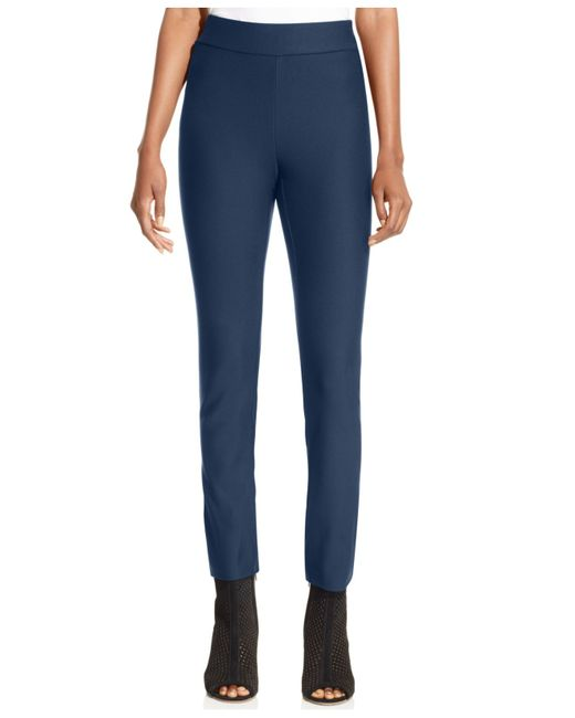 Eci | Blue Pull-on Straight-leg Pants | Lyst