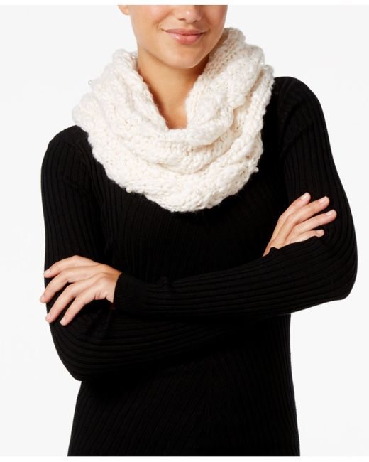 Betsey Johnson | Gray Pearly Girl Snood | Lyst