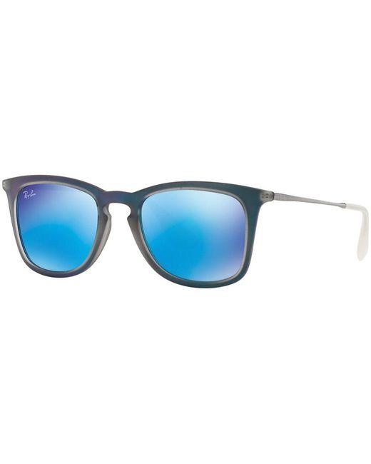 Ray-Ban | Blue Sunglasses, Rb4221 50 | Lyst