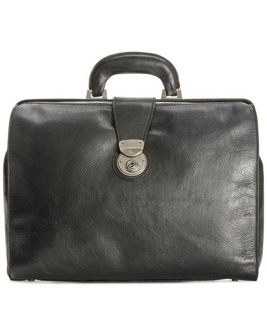 Patricia Nash   Black Men's Heritage Leather Slim Briefcase for Men   Lyst