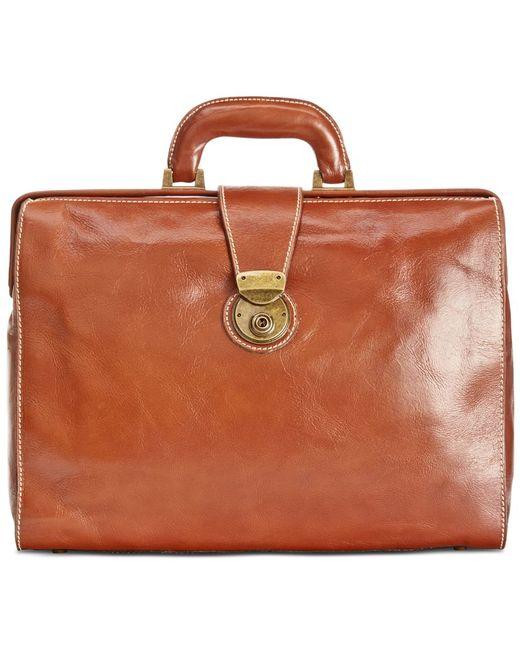 Patricia Nash | Brown Nash By Men's Heritage Leather Slim Briefcase | Lyst