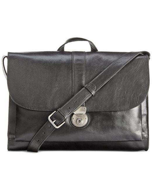 Patricia Nash | Black Men's Heritage Leather Messenger Bag | Lyst