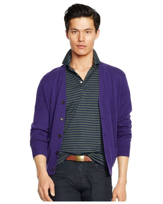 Polo Ralph Lauren | Green Striped Pima Soft-touch Shirt for Men | Lyst