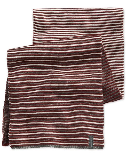 Calvin Klein | Purple Ombre Jacquard Muffler Scarf for Men | Lyst