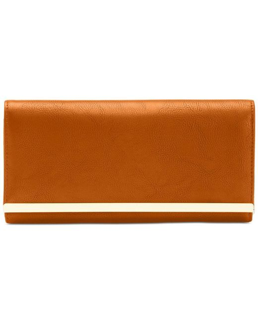Style & Co.   Brown Clutch Wallet, Only At Macy's   Lyst