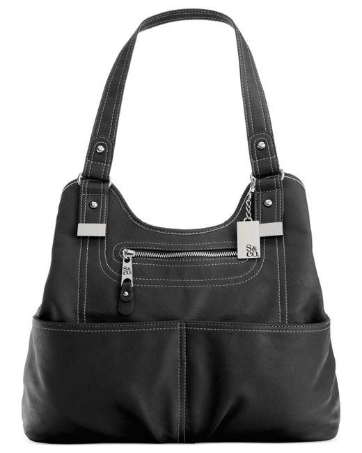 Style & Co. | Black Kenza A-line Shopper | Lyst