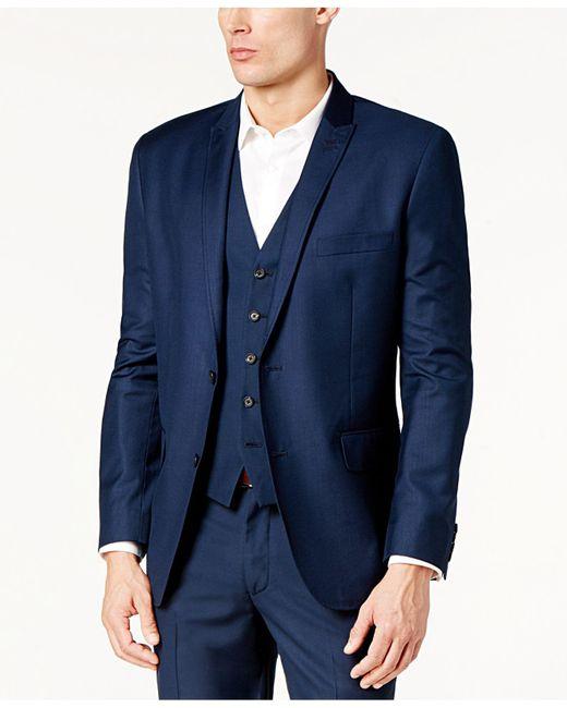 INC International Concepts   Blue James Slim-fit Blazer for Men   Lyst