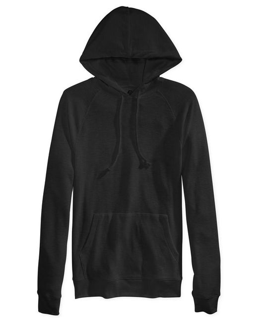 American Rag | Black Men's Thermal Raglan Hoodie With Pockets, Only At Macy's for Men | Lyst