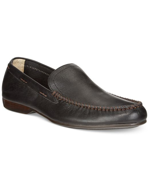 Frye | Black Venetian Loafers for Men | Lyst