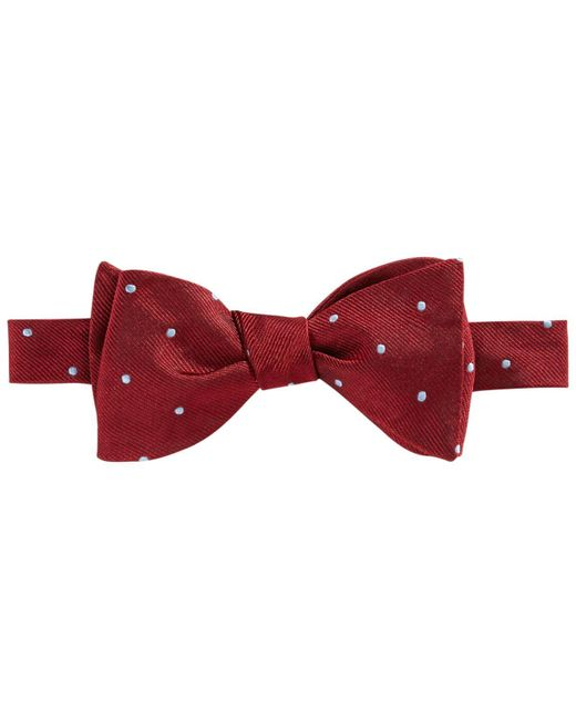 Brooks Brothers | Red Repp Dot Bow Tie for Men | Lyst