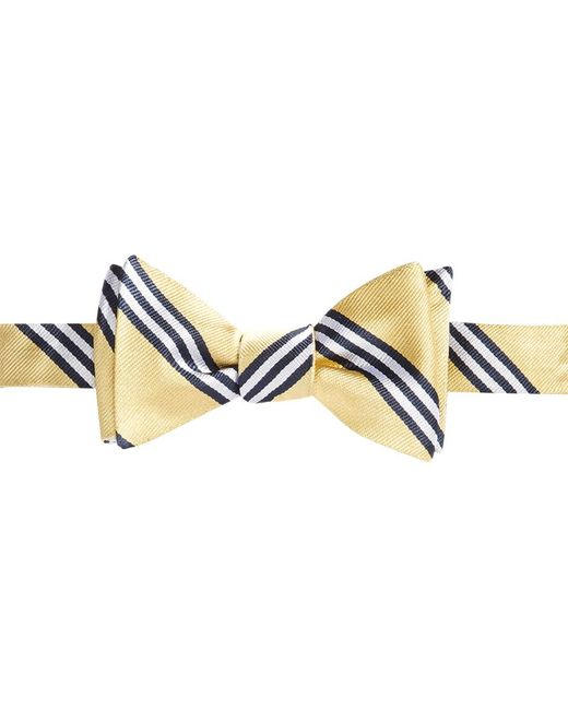 Brooks Brothers | Metallic Repp Bb Bow Tie for Men | Lyst